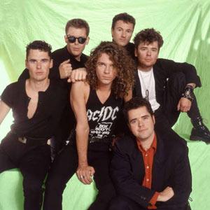 INXS INXS-band-1987