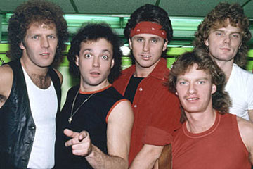 Loverboy band lineup early 80s Loverboy