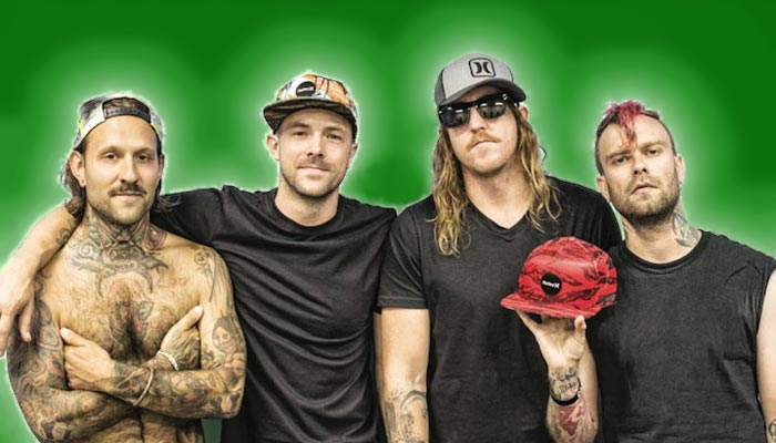 The Used Biography Discography Music News On 100 Xr The Net S 1 Rock Station